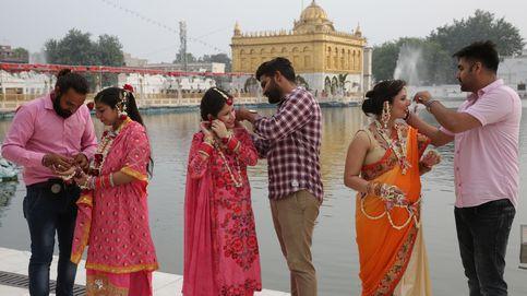 Recién casados en la India