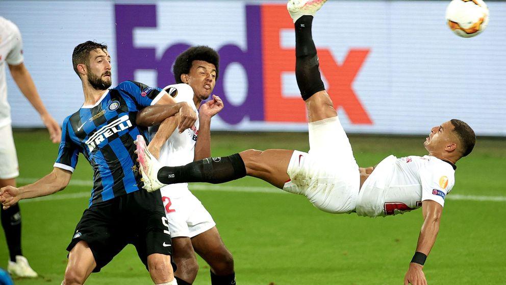 El Sevilla de Lopetegui conquista la Europa League en un partidazo contra el Inter (3-2)