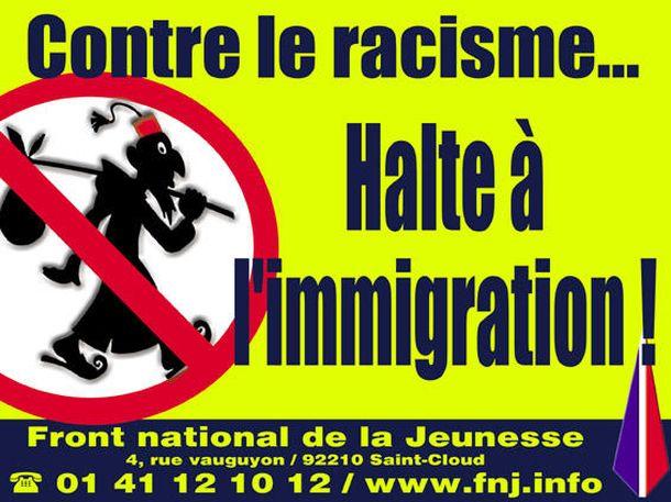 Foto: Cartel del Frente Nacional francés