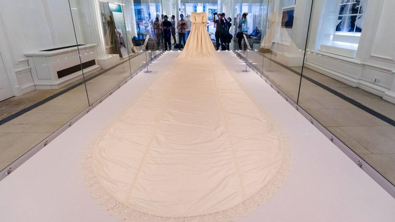 La exposición 'Royal Style in the Making'. (EFE)