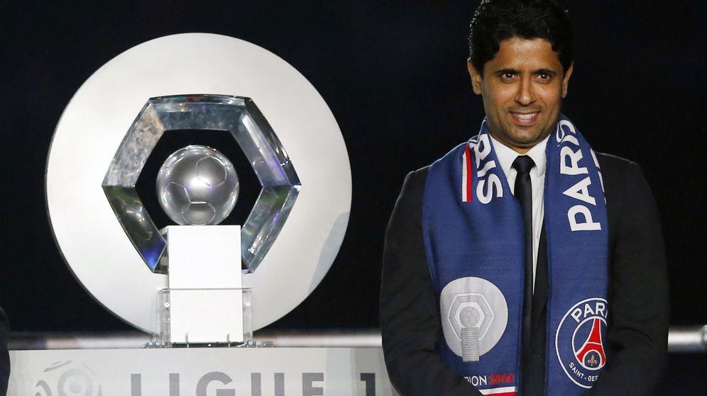 Foto: El propietario del PSG, el catarí Nasser al-Khelaifi. (Reuters)