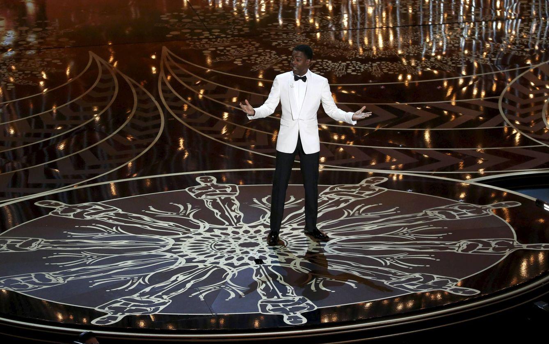 Foto: Chris Rock, presentador de la ceremonia