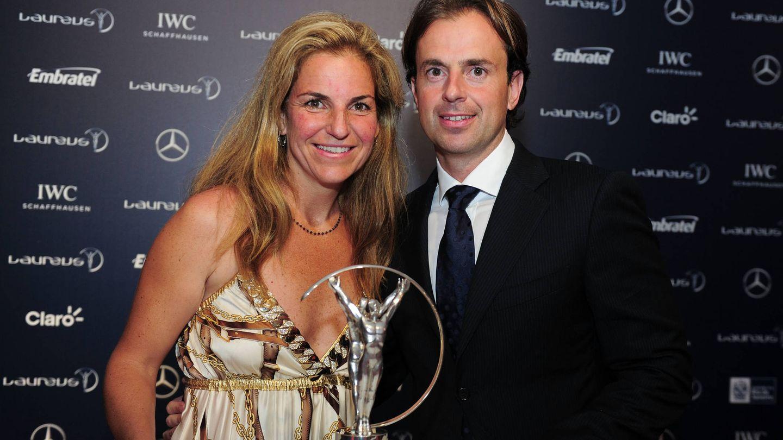 Vicario y Santacana, en los premios Laureus de 2013. (Getty)