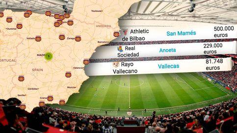 Los llamativos alquileres del fútbol español: esto paga tu equipo por su estadio municipal