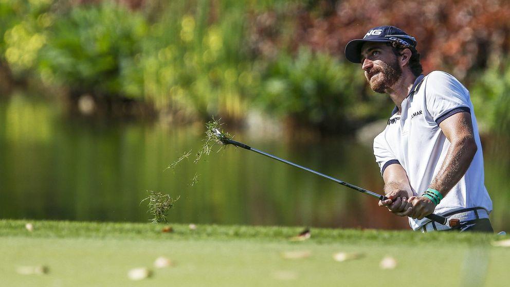 Cañizares enseña las diferentes maneras de coger un palo de golf