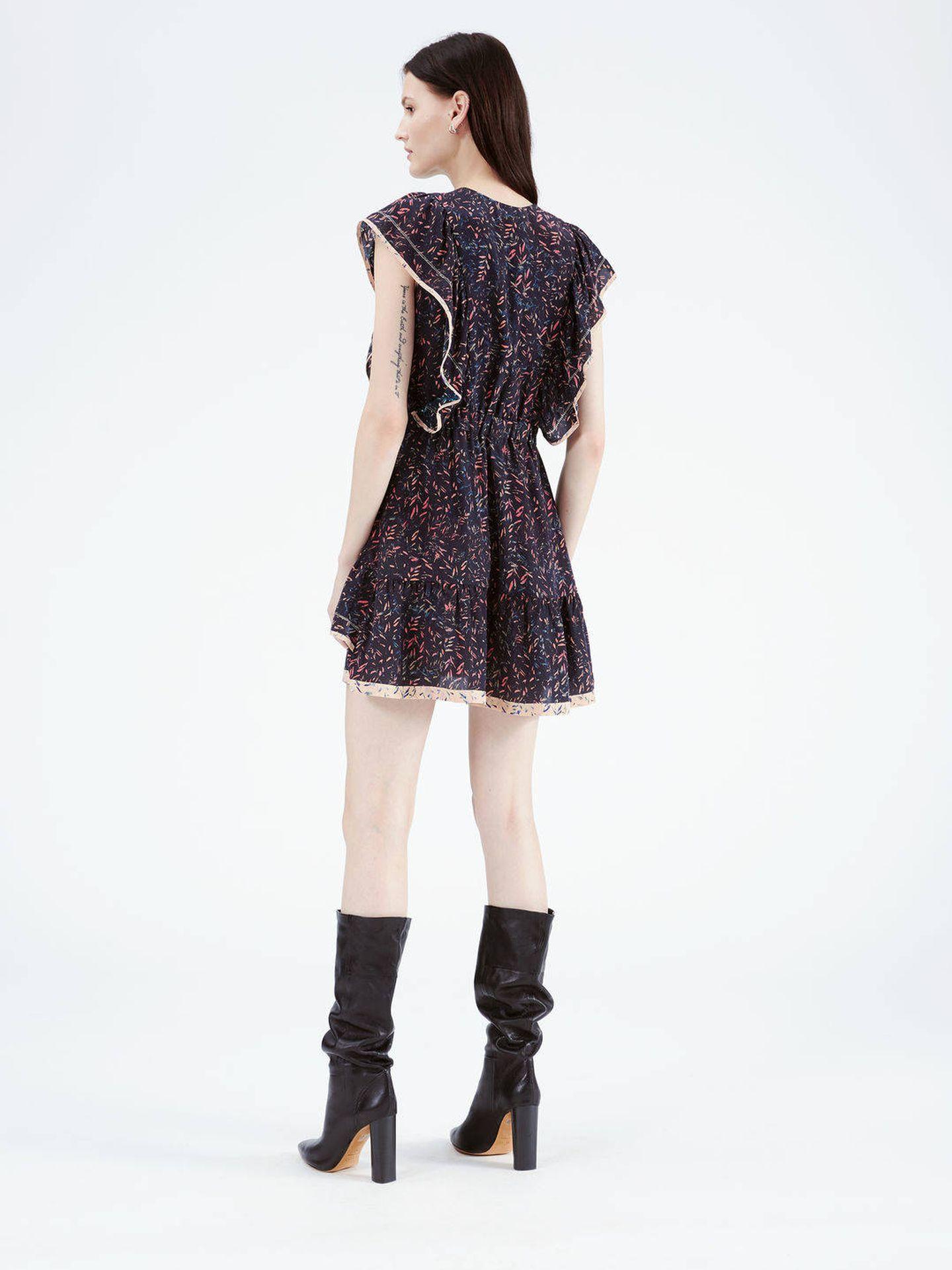 Este es el vestido de Sara Carbonero de la firma Iro Paris. (Foto Iro Paris)