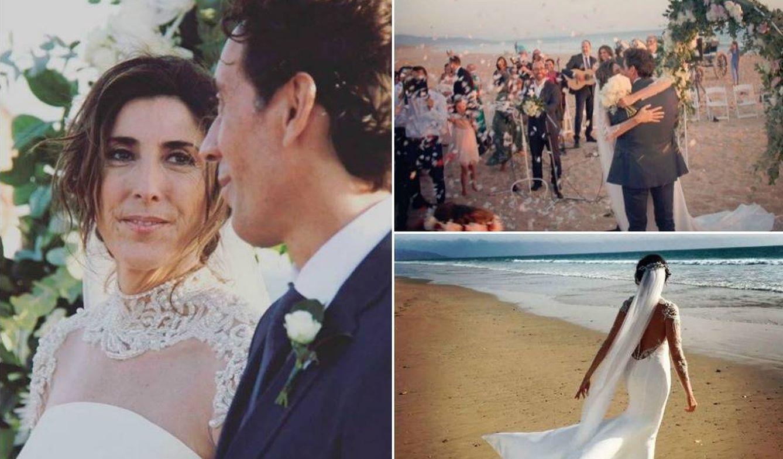 Foto: Algunas de las imágenes de la boda de Paz Padilla (Instagram)