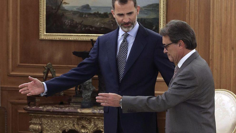 Mas dinamita el año de esfuerzo de Felipe VI por unir a España y Cataluña