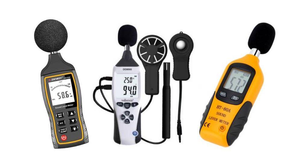 Foto: Los mejores sonómetros para medir el ruido