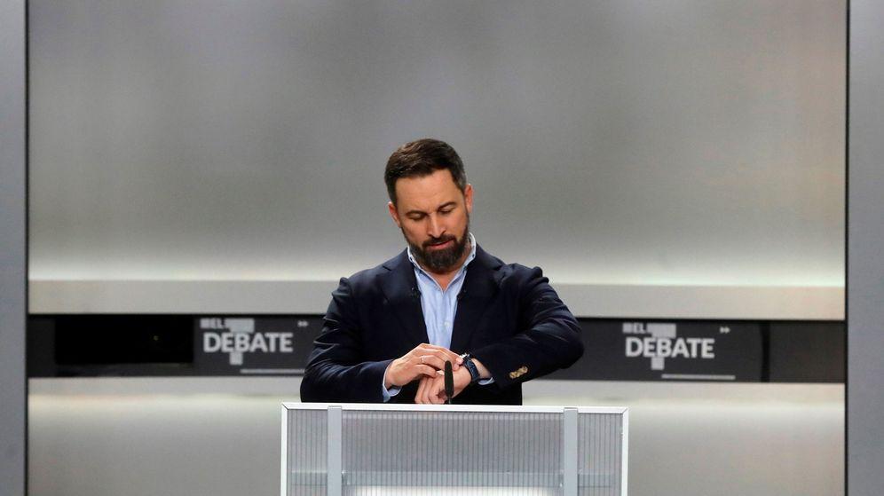 Foto: Preparativos del debate a 5