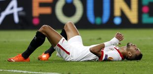 Post de El fallo de En-Nesyri, solo ante Neuer, que pudo dar la victoria al Sevilla en el minuto 88