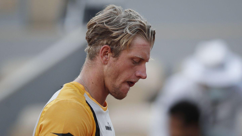 Davidovich, tras perder un partido. (Reuters)