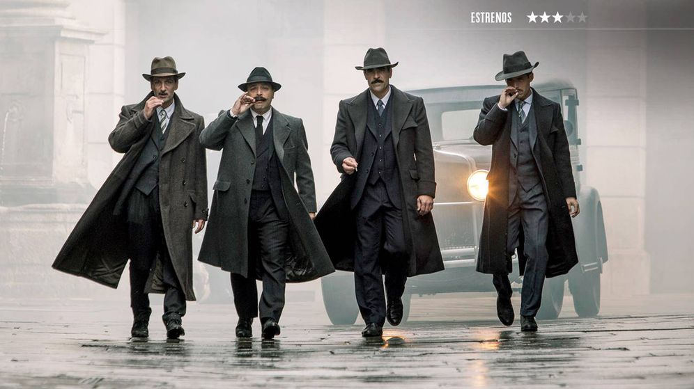 Foto: Luis Tosar protagoniza 'La sombra de la ley', de Dani de la Torre. (Fox)