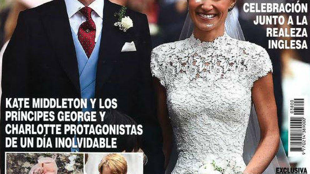 Kiosco rosa: Pippa Middleton le roba todo el protagonismo a Risto y Laura Escanes