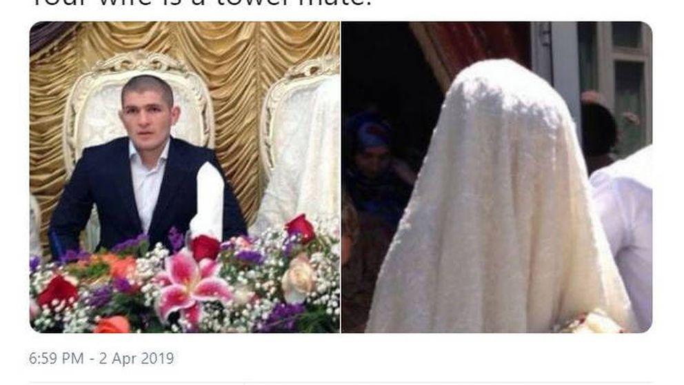 Conor McGregor, con tono islamófobo, llama 'toalla' a la mujer de Khabib Nurmagomedov