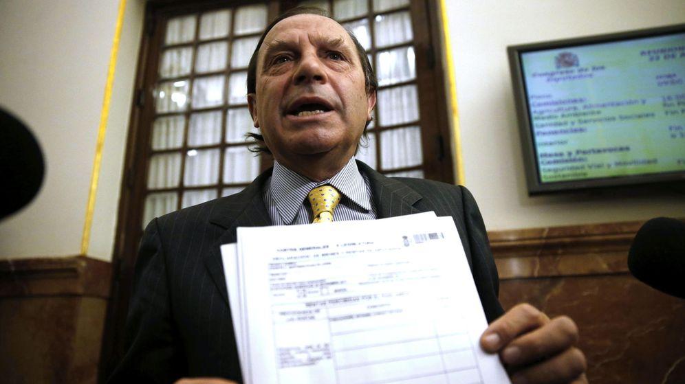 Foto: El Congreso rechaza investigar los negocios de Martínez Pujalte y Agustín Conde