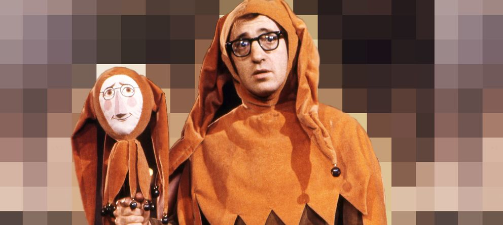 El espectáculo cómico de la muerte de Woody Allen