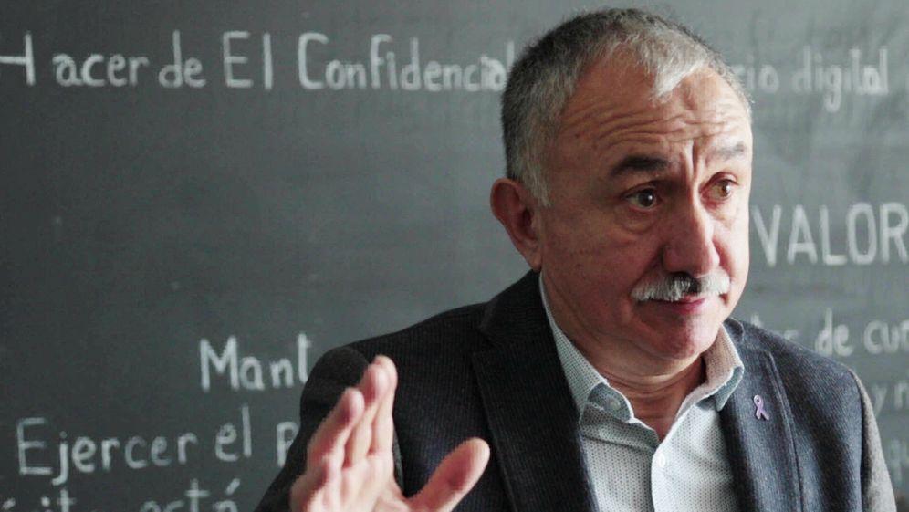 Foto: El secretario general de UGT, Pepe Álvarez. (David Brunat)