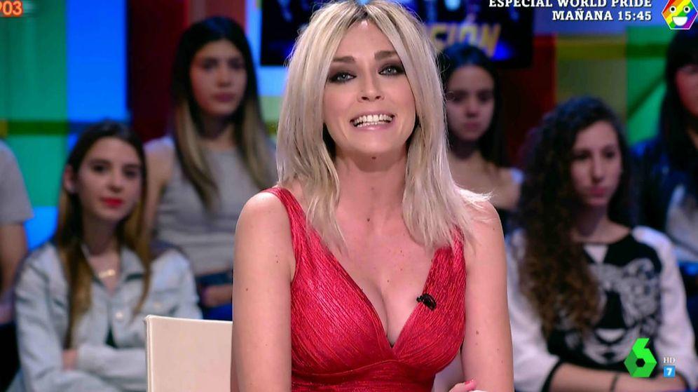 Foto: Anna Simon en 'Zapeando'. (Atresmedia Televisión)