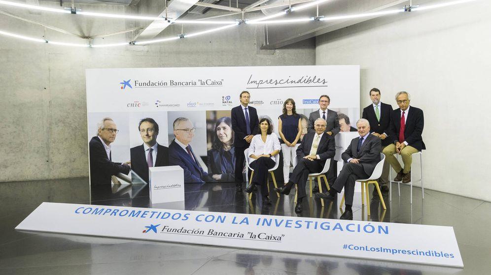 Foto: Presentación de la campaña de publicidad de Fundación la Caixa 'Imprescindibles'. (EC)
