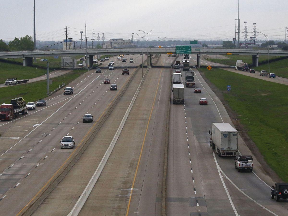 Foto: Autopusta en Dallas, Texas. (EFE)