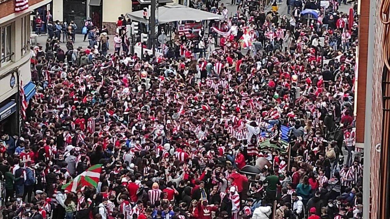 Incidentes en Bilbao en las horas previas a la final de la Copa del Rey