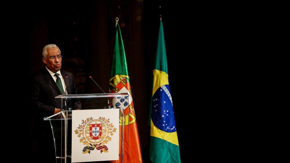 Foto: El primer ministro de Portugal, António Costa, en la celebración del Día de Portugal. (EFE)