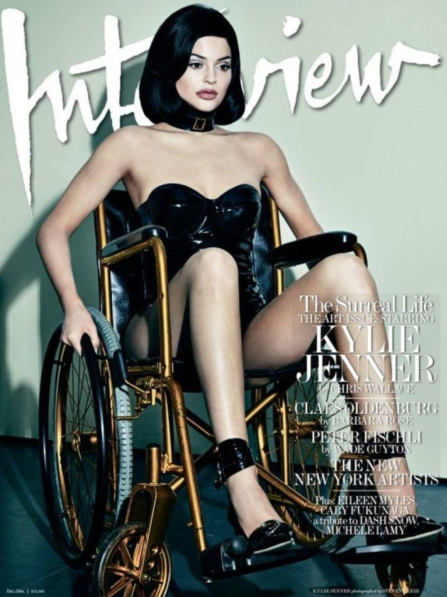 La portada de Kylie. (Interview)