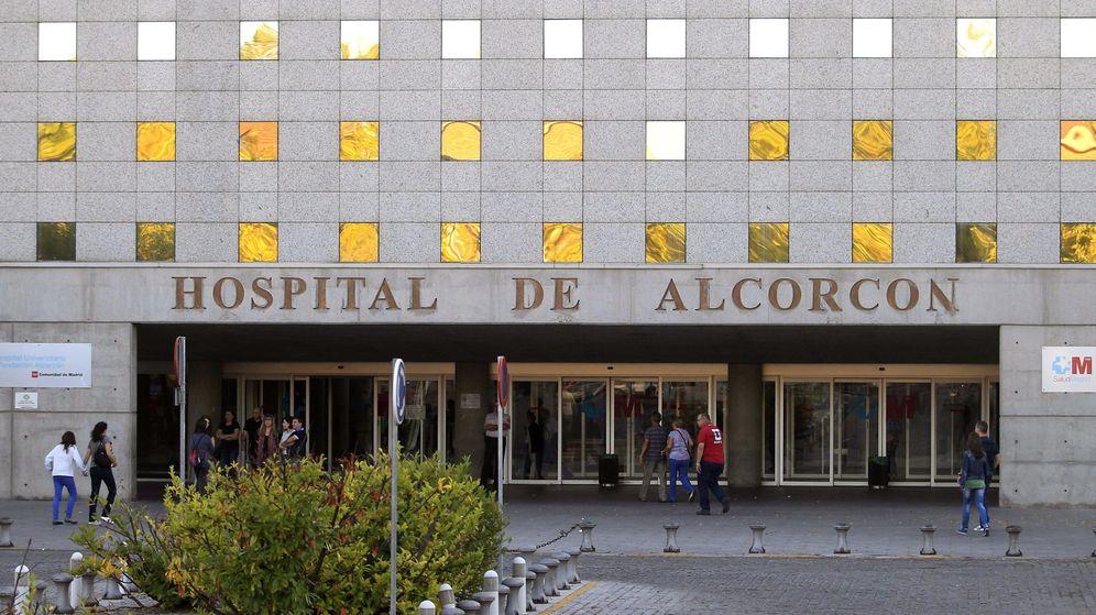Foto: Fachada del hospital de Alcorcón de Madrid. (EFE)