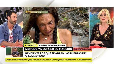 No es valiente: Rosa Benito tampoco se cree a Olga (y su 'pillada') en 'SV 2021'