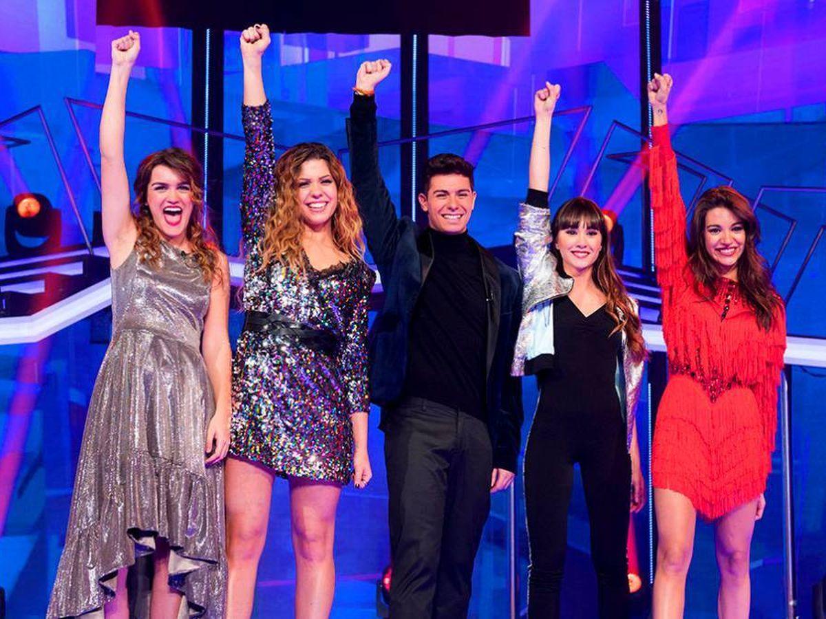 Foto: Los finalistas de 'Operación Triunfo 2017'. (RTVE).