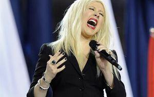 """Cristina Aguilera y su """"bochornosa"""" interpretación del himno nacional"""
