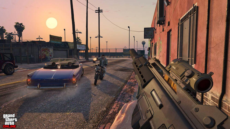 Grand Theft Auto Online es un mundo virtual persistente parte del proto-metaverso. (Rockstar)
