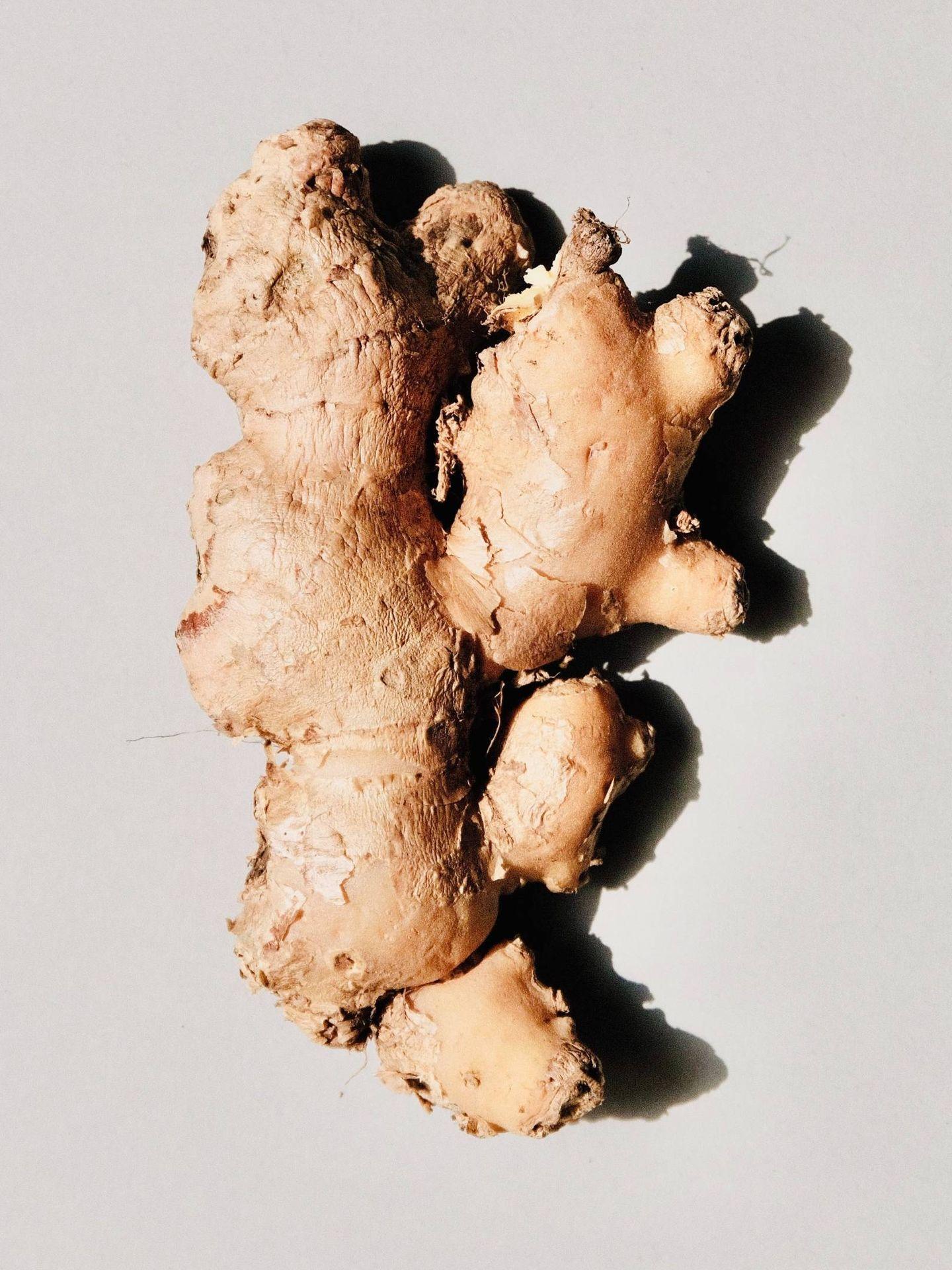 El jengibre se utiliza desde hace siglos en cosmética. (Jocelyn Morales para Unsplash)