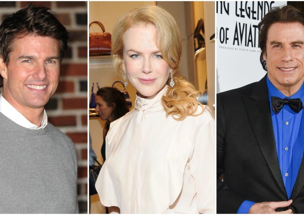 Foto: Tom Cruise, Nicole Kidman y John Travolta (Gtres)