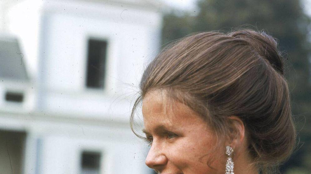 Foto:  La princesa Cristina, en una foto retrospectiva. (Foto Casa Real Holanda)