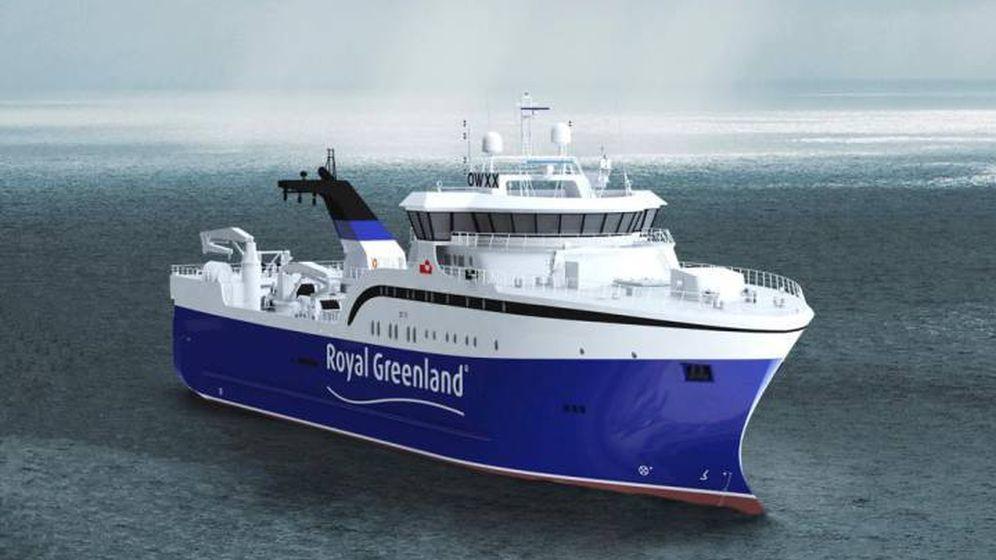 Foto: Prototipo del pesquero. (Royal Greenland)