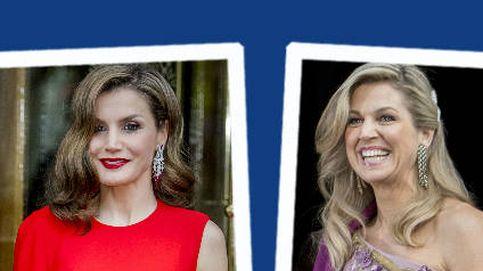 Estilo Real: los estilismos de gala de Máxima y Letizia, a examen
