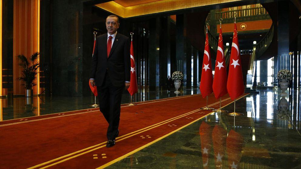 El nuevo palacio de las mil y una noches del 'sultán' Erdogan