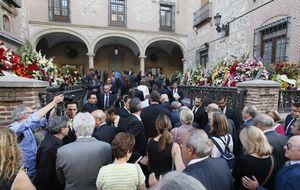 Las plañideras de turno en los funerales de Botín e Isidoro Álvarez