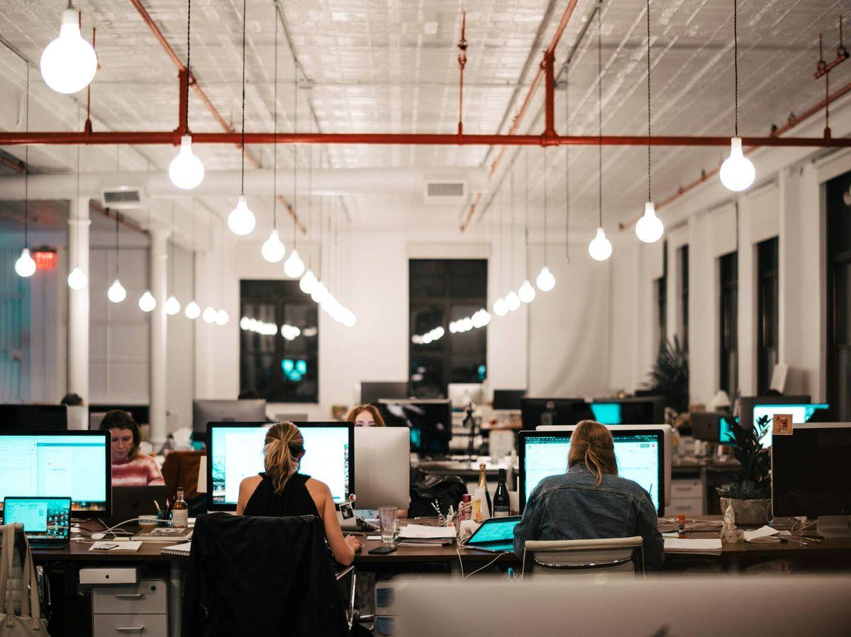 Foto: Vista de una oficina. (Israel Andrade/Unsplash)