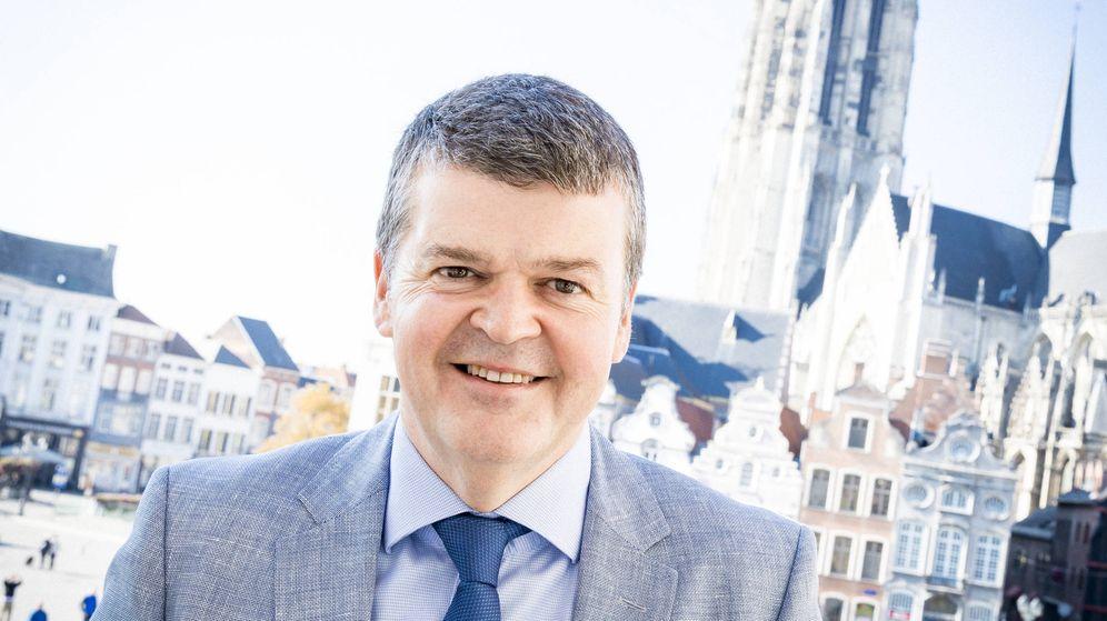 Foto: Bart Somers, alcalde de Malinas (Bélgica). (Cortesía del Ayto. de Malinas)
