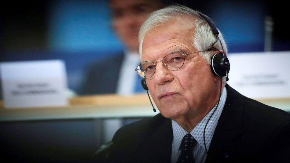 Foto: El alto representante para la Política Exterior de la UE designado, el español Josep Borrell, participa en su audiencia confirmatoria ante el Parlamento Europeo. (EFE)
