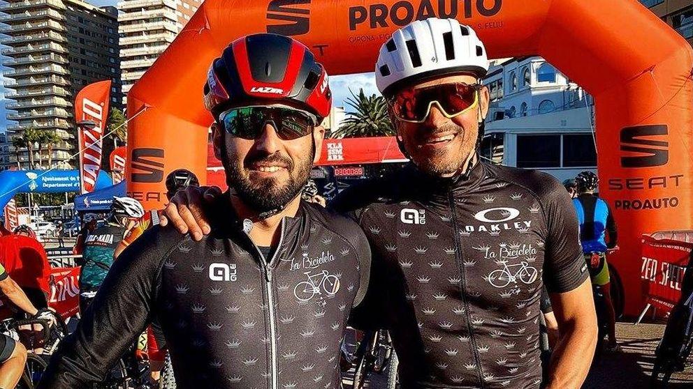 La paliza en bicicleta y la nueva sonrisa de Luis Enrique: vuelve a la vida pública