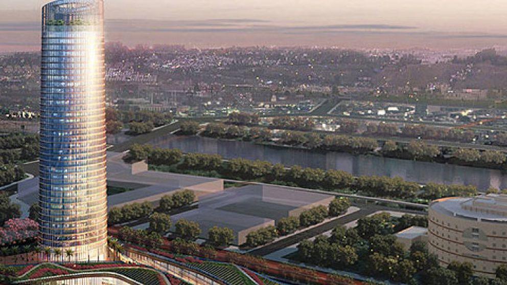 Fainé 'salva' el monumental proyecto de la Torre Pelli con un centro cultural