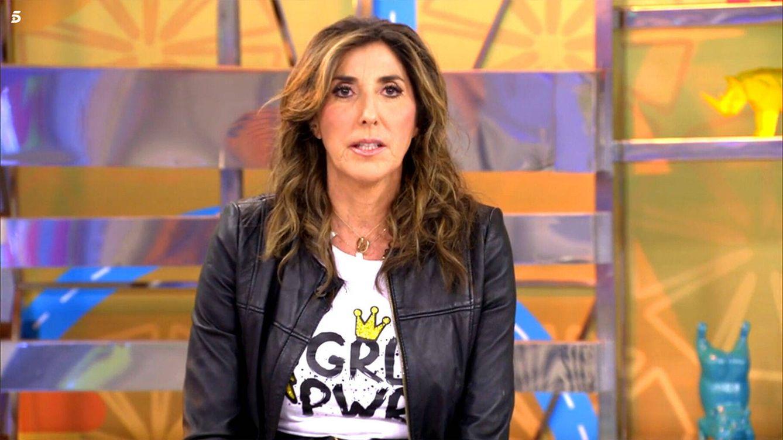 Paz Padilla se pronuncia tras el aluvión de críticas por su viaje a Cádiz en Semana Santa