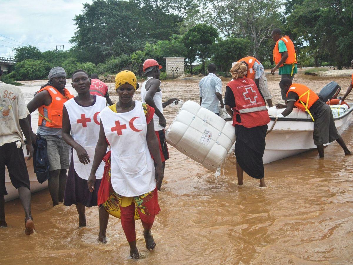 Foto: El aumento de desastres naturales está incrementando el riesgo sanitario. (EFE)