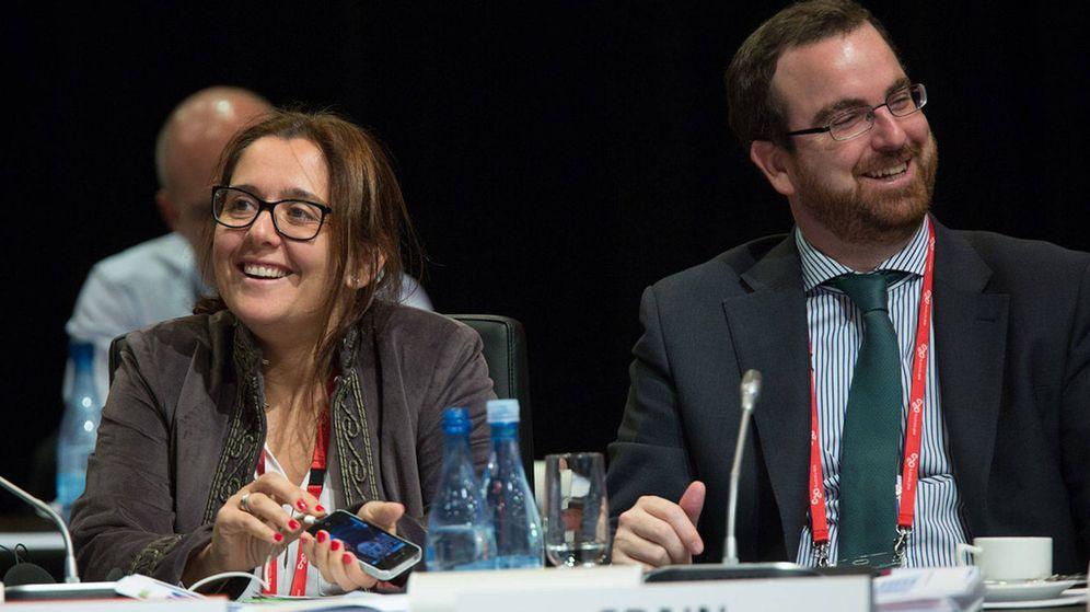 Foto: La jefa de la Oficina Económica de Presidencia, Eva Valle. (EFE)
