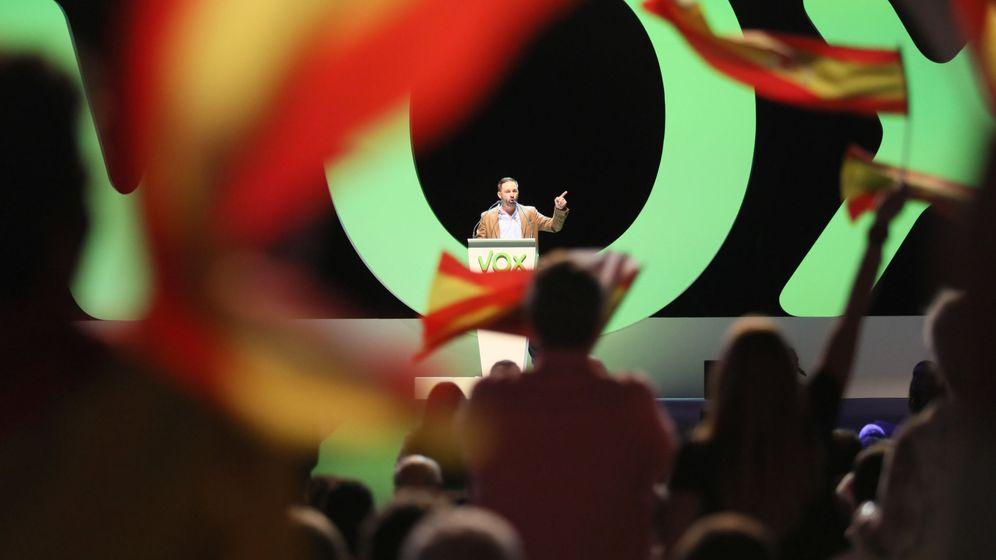 Foto: Santiago Abascal, líder de Vox, en una imagen de archivo. (Reuters)