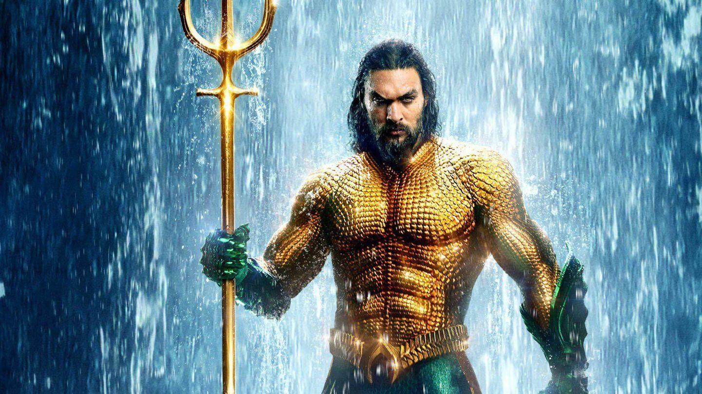 Cartel oficial de la película 'Aquaman'.